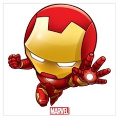 Iron Man Stylized 2 Wall Art Poster
