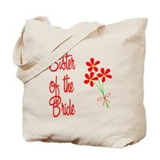 Bouquet Bride's Sister Tote Bag