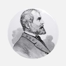 Robert E Lee Portrait Illustratio Ornament (Round)