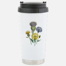 Vintage Flowers Travel Mug