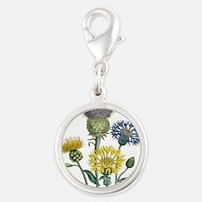 Vintage Flowers Charms