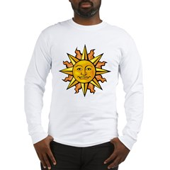 Sun Face Long Sleeve T-Shirt