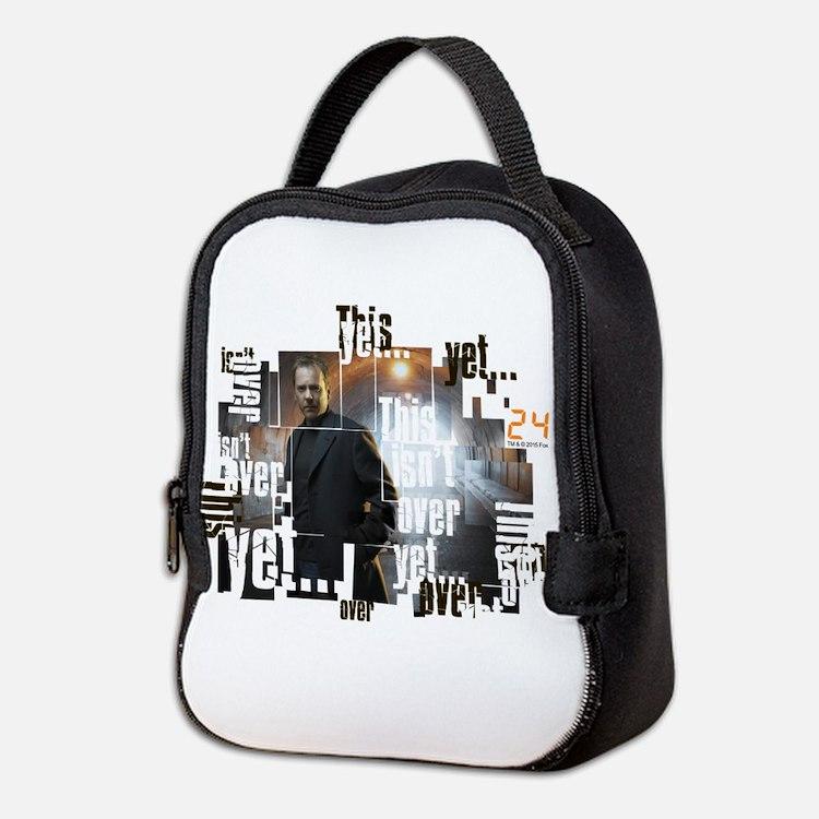 24 Not Over Yet Neoprene Lunch Bag