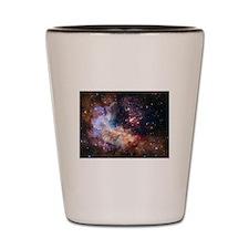 Hubble @ 25 Image Shot Glass