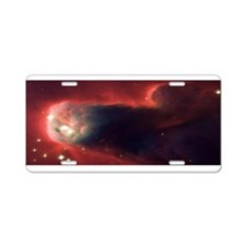 Hubble @ 25 Image Aluminum License Plate