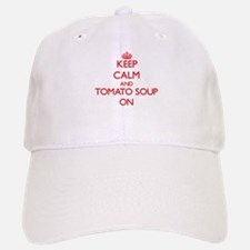 Keep Calm and Tomato Soup ON Baseball Baseball Cap
