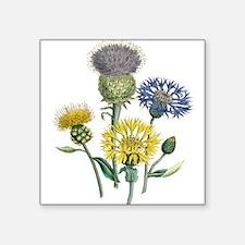 Vintage Flower Sticker