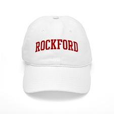 ROCKFORD (red) Baseball Cap