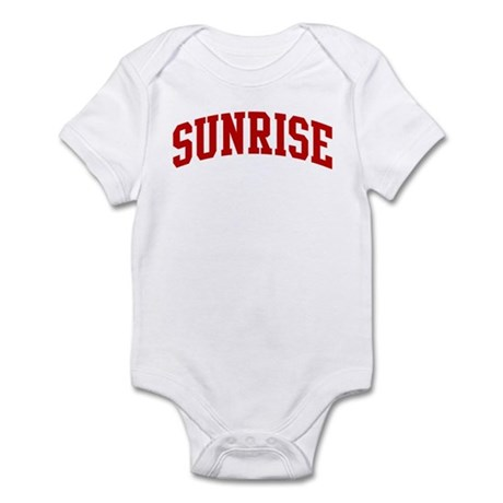 SUNRISE (red) Infant Bodysuit