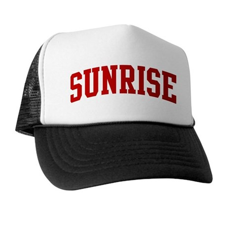 SUNRISE (red) Trucker Hat