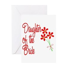 Bouquet Bride's Daughter Greeting Card