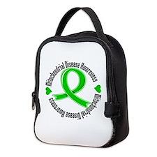 Mitochondrial Disease Neoprene Lunch Bag