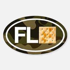Florida Cracker Camo 10-Sticker Pack