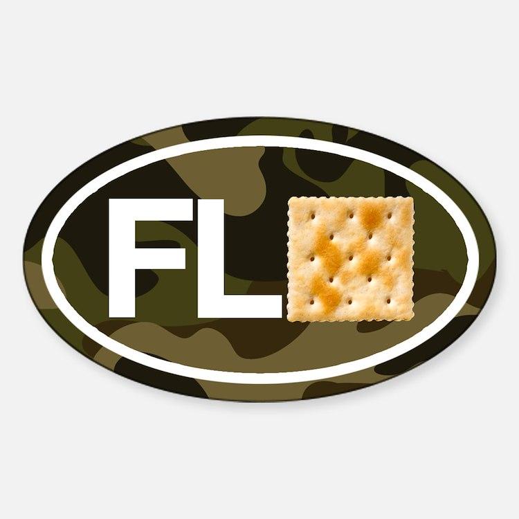Florida Cracker Camo Decal