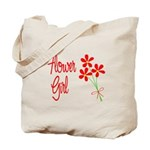 Bouquet Flower Girl Tote Bag