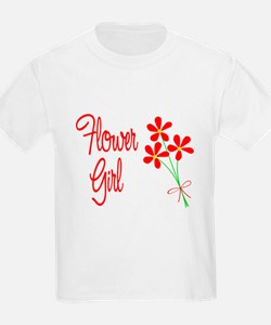Bouquet Flower Girl T-Shirt