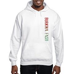 Burkina Faso Hooded Sweatshirt