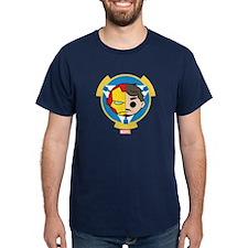 Iron Man Stylized Badge T-Shirt