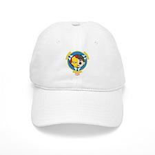 Iron Man Stylized Badge Baseball Baseball Cap