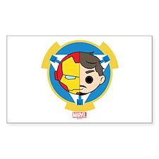 Iron Man Stylized Badge Decal