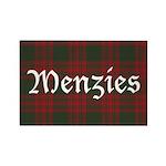 Tartan-Menzies hunting Rectangle Magnet (10 pack)