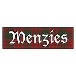 Tartan-Menzies hunting Sticker (Bumper 10 pk)