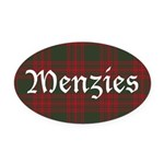 Tartan-Menzies hunting Oval Car Magnet
