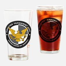 24 CTU Logo Drinking Glass