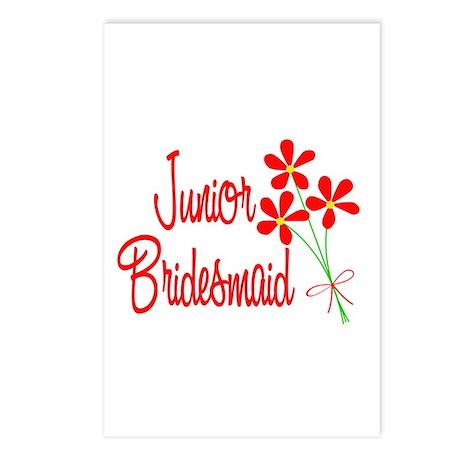 Bouquet Junior Bridesmaid Postcards (Package of 8)