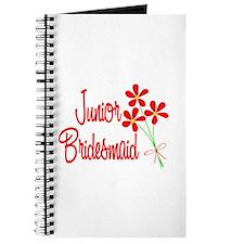 Bouquet Junior Bridesmaid Journal