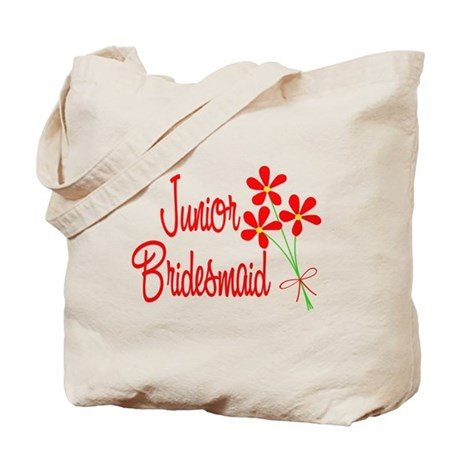 Bouquet Junior Bridesmaid Tote Bag