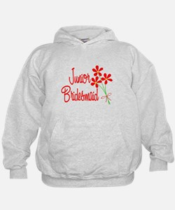 Bouquet Junior Bridesmaid Hoodie
