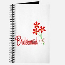 Bouquet Bridesmaid Journal