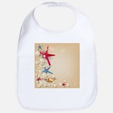 Decorative Summer Beach Sand Shells Bib