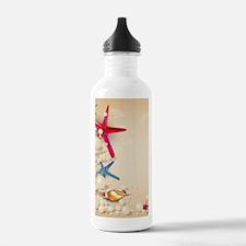 Decorative Summer Beac Sports Water Bottle