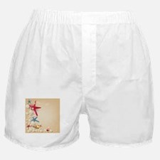 Decorative Summer Beach Sand Shells Boxer Shorts