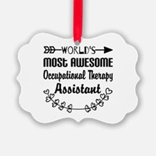 Occupational Therapy Assistant Ornament