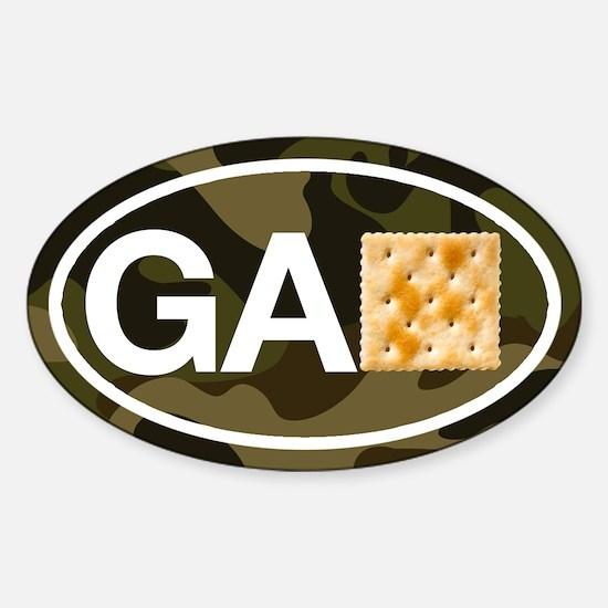 Georgia Cracker Camo Decal