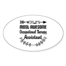 Occupational Therapy Assistant Decal