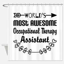 Occupational Therapy Assistant Shower Curtain