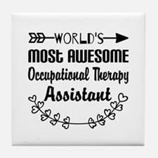 Occupational Therapy Assistant Tile Coaster