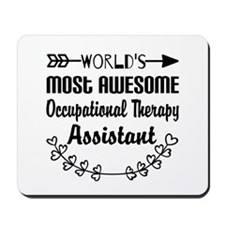 Occupational Therapy Assistant Mousepad