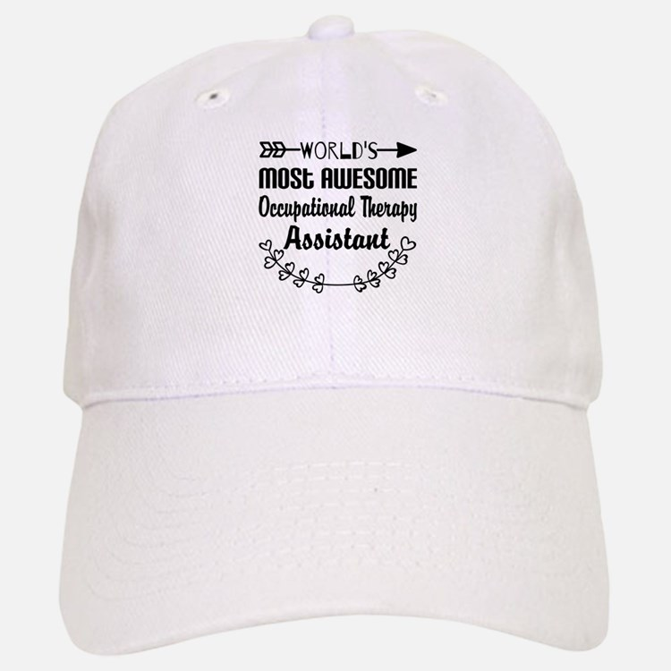 Occupational Therapy Assistant Baseball Baseball Cap