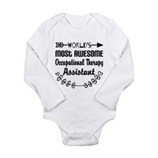 Occupational Therapy A Long Sleeve Infant Bodysuit