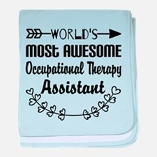 Occupational Therapy Assistant baby blanket