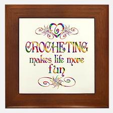 Crocheting More Fun Framed Tile