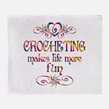 Crocheting More Fun Throw Blanket