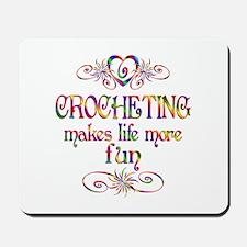 Crocheting More Fun Mousepad