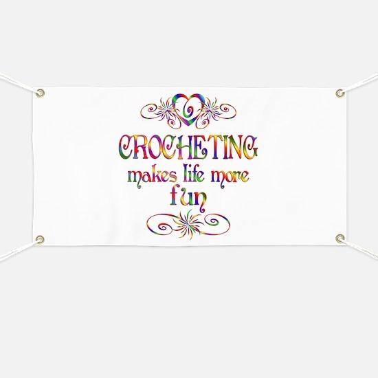 Crocheting More Fun Banner