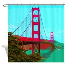 Golden_Gate_Bridge_2015_0422 Shower Curtain